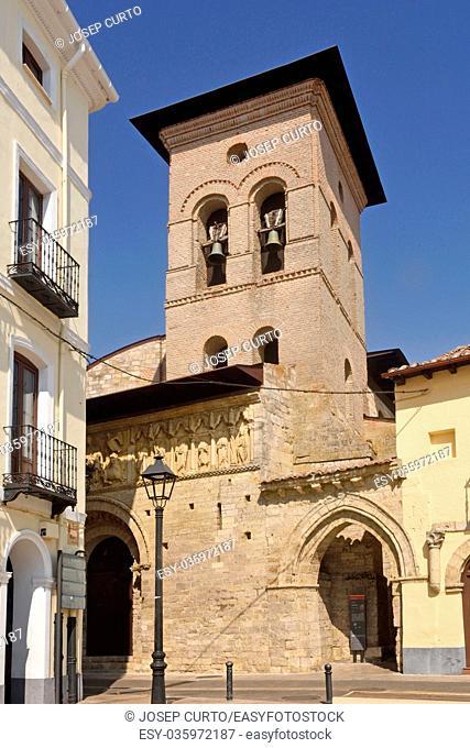 Romanesque church of Satiago, Carrion de los Condes, Palencia province, Spain