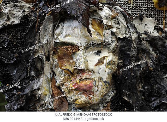 female 3D art portrait