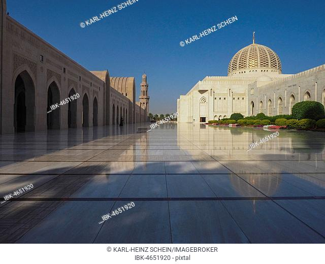 Great Sultan Qaboos Mosque, Muscat, Oman