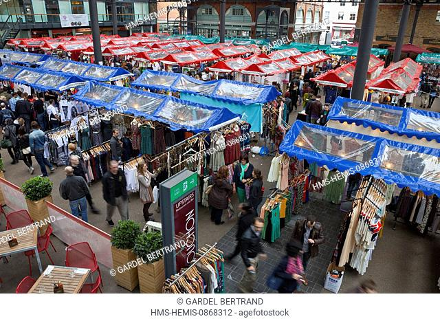United Kingdown, London, East End District, Old Spitalfields Market