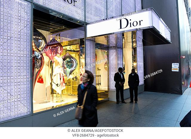 The french fashion design house has been a stalwart staple of tourist and locals in New York City at 17 E 57th