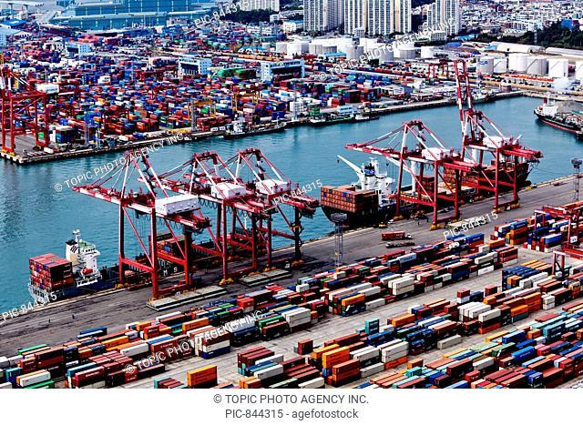 Korea Express Container Termin,Busan Harbor,Busan,Korea