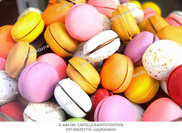 macaroons background France