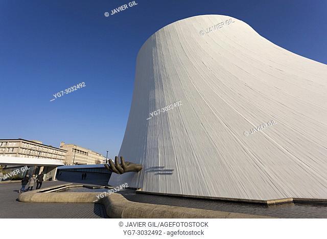 Volcan, Cultural Center by Oscar Niemeyer, Le Havre, Seine-Maritime department, France