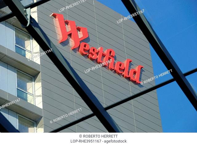 England, London, Stratford. Westfield Stratford City shopping centre, one of the largest urban shopping centres in Europe, next to the London Olympic Park