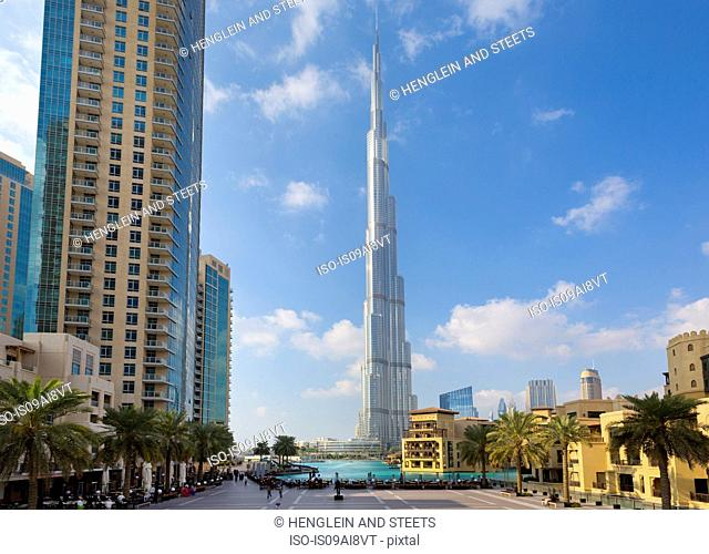 Downtown Dubai, Burj Khalifa, United Arab Emirates