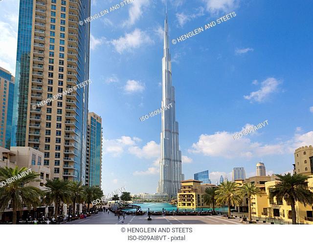 Downtown Dubai, Burj Khalifa, United Arab Emirates