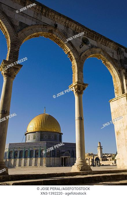 Dome of the Rock, Temple Mount, Old City, Jerusalem, Israel