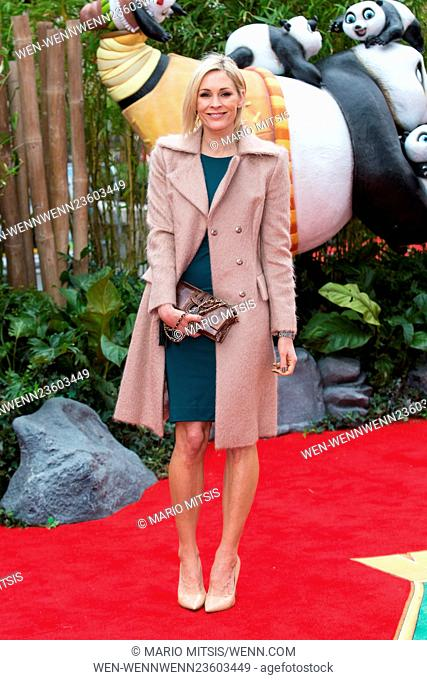 The European Premiere of 'Kung Fu Panda 3' held at the Odeon Leicester Square - Arrivals Featuring: Jenni Falconer Where: London