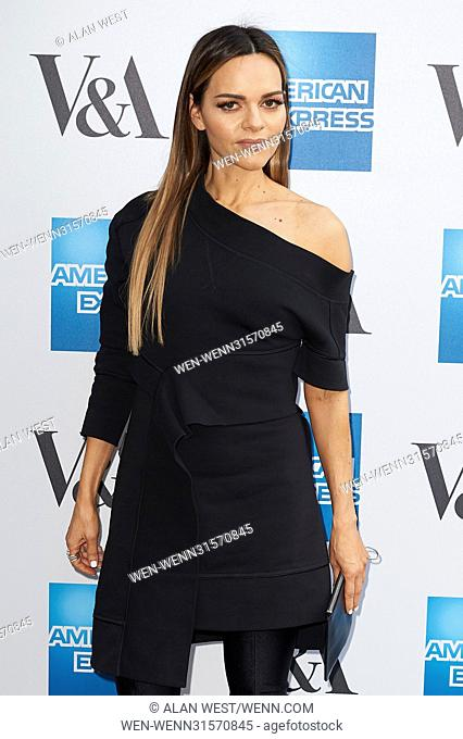 Celebs arrive on the red carpet for a private viewing of the first UK exhibition of fashion designer Cristóbal Balenciaga at the Victoria & Albert museum