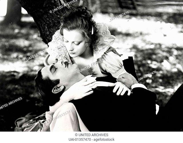 Dämon Weib, 1920s, Film, Gypsy And The Gentleman, The, Stummfilm, The Temptress, couple, silent movie, Dämon Weib, 1920s, Film, Gypsy And The Gentleman, The