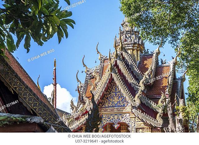 Wat Phra That Doi Suthep Temple, Chiang Mai, Thailand