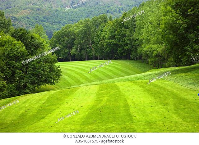 The Royal Golf Club of San Sebastian, Hondarribia, Guipuzcoa, Basque Country, Spain