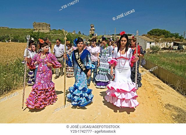 Pilgrimage of San Isidro Labrador, Escacena del Campo, Huelva-province, Spain