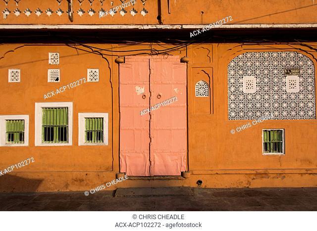 Doors and windows n the Pink City, Jaipur, Rajastan, India