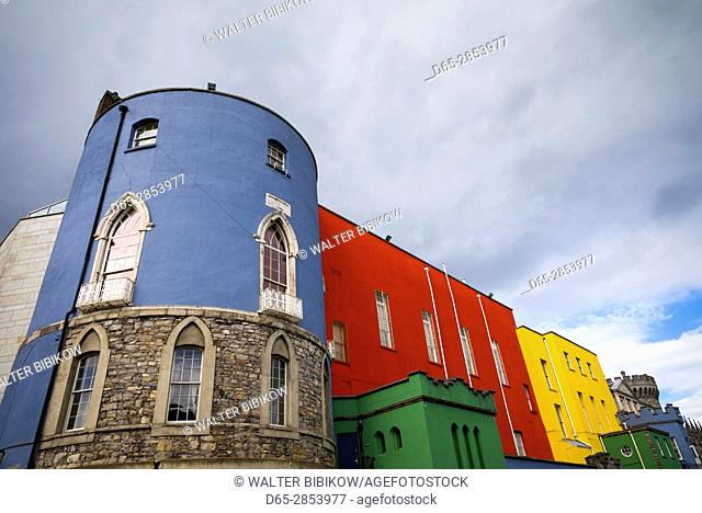 Ireland, Dublin, Dublin Castle, exterior