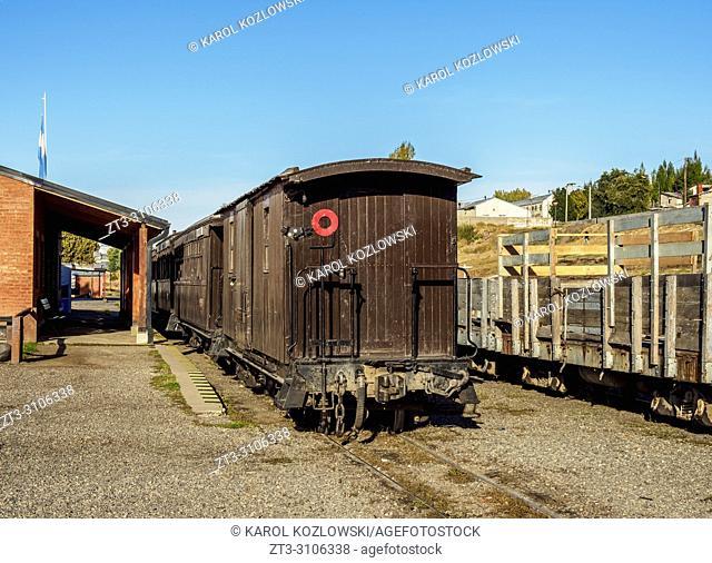 Esquel Train Station, Chubut Province, Patagonia, Argentina