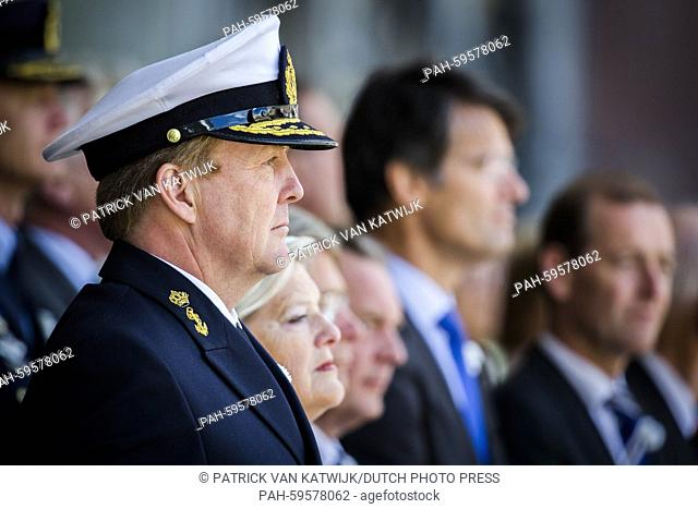King Willem-Alexander of The Netherlands attends the 11th Veteransday in The Hague, The Netherlands, 27 June 2015. Veterans day is an tribute to the 100