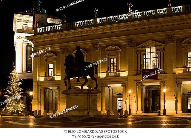 Piazza del Campidoglio, Rome, Latium, italy