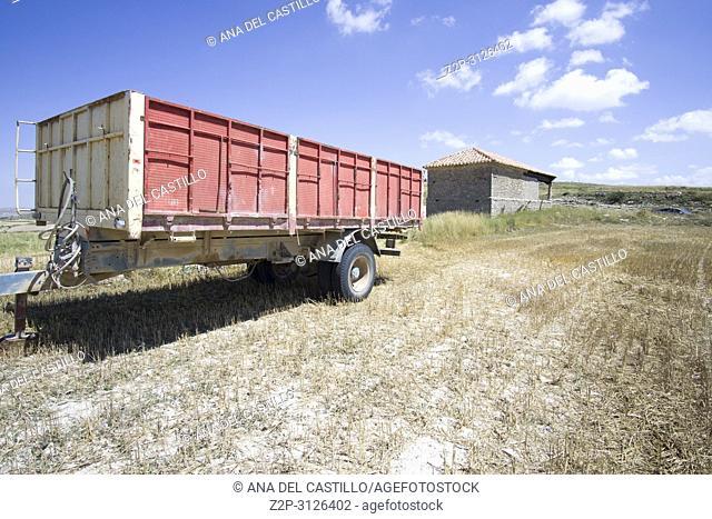Rural landscape Teruel province Aragon Spain