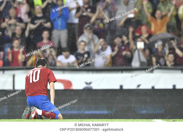 Former captain of the Czech national football team Tomas Rosicky definitely ended his career at the age of 37 in a farewell match played despite a driving...
