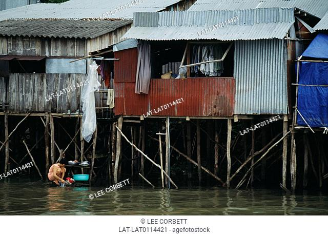 The Mekong Delta is located in the southwest of Vietnam where the Mekong River spreads across the flag plain and flows towards the sea