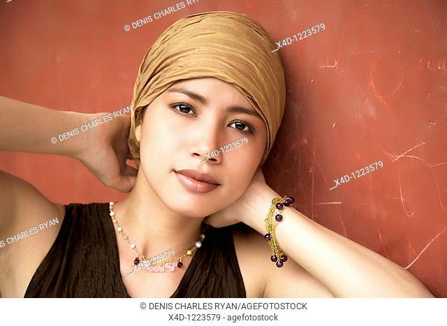 Portrait of woman