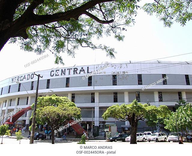 fortaleza central market architecture building