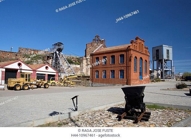 industry, world heritage, Unesco, Almaden, Castile La Mancha, City, Ciudad Real, Mercury, Mines, Spain, Europe, architecture, tourism, travel