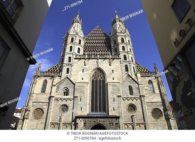 Austria, Vienna, St Stephen Cathedral,