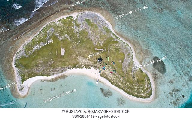 Vapor island Los roques - venezuela