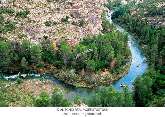 Cabriel River Sickle in Cuenca province. Castilla-La Mancha, Spain