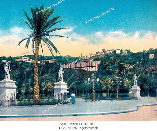 'Napoli - Entrata Villa Comunale', c1900. Creator: Unknown