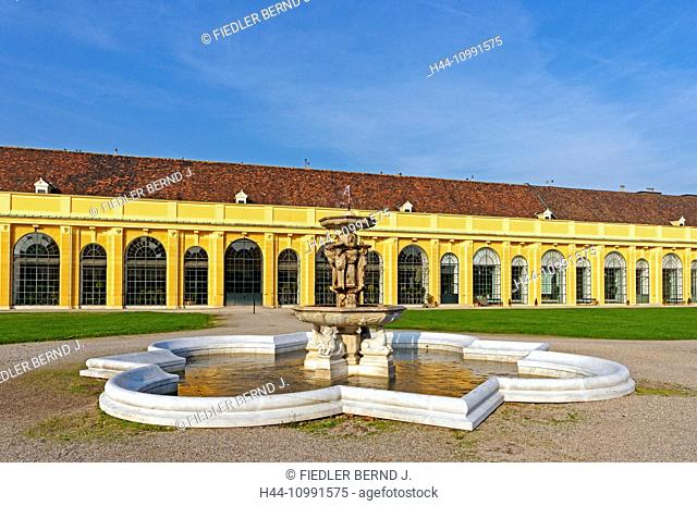 Castle, Schönbrunn, orangery