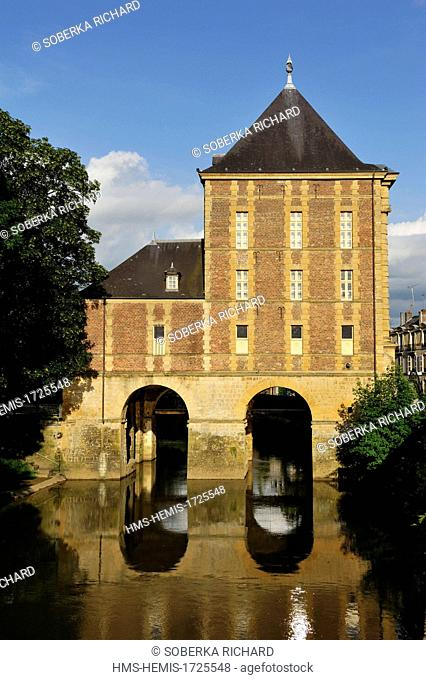 France, Ardennes, Charleville Mezieres, flour mill told Old Mill that now houses the municipal museum Arthur Rimbaud