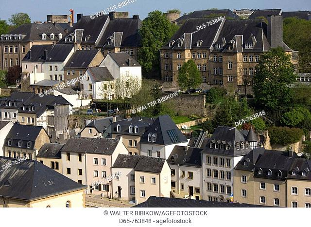 Luxembourg, Luxembourg City, Grund quarter, lower town