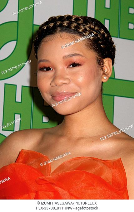 Storm Reid 01/06/2019 The 76th Annual Golden Globe Awards HBO After Party held at the Circa 55 Restaurant at The Beverly Hilton in Beverly Hills
