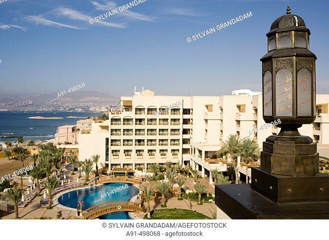The Intercontinental Hotel. City of Aqaba on the Red Sea. Kingdom of Jordan