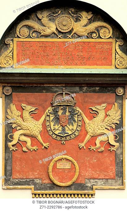 Austria, Vienna, Hofburg Palace, coat of arms