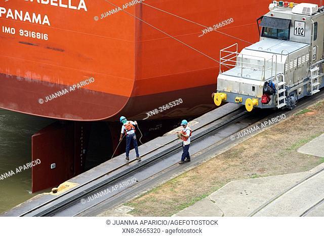 Miraflores Locks visitors center Panama Canal, Panama City, Panama, Central America