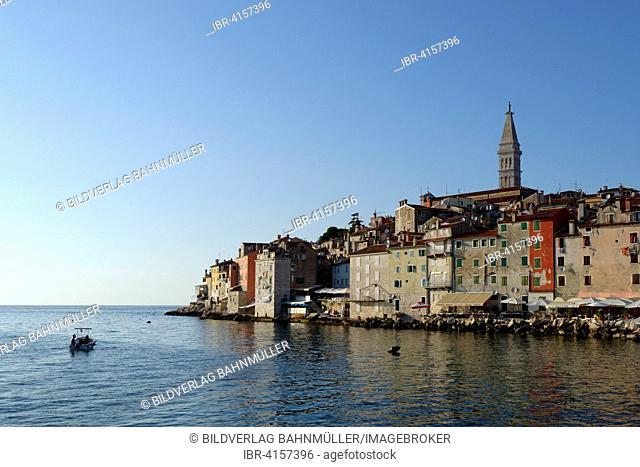Historic centre of Rovinj, Istria, Croatia