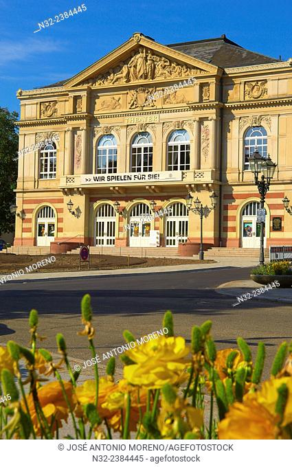 Baden-Baden, Theater, Black Forest mountain range, Baden-Wuerttemberg, Germany, Europe