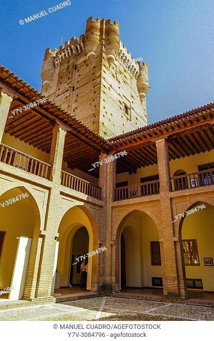 Castillo de la Mota en Medina del Campo, provincia de Valladolid, Comunidad Autónoma de Castilla y León, Spain
