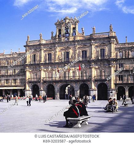 Plaza Mayor. Salamanca. Spain