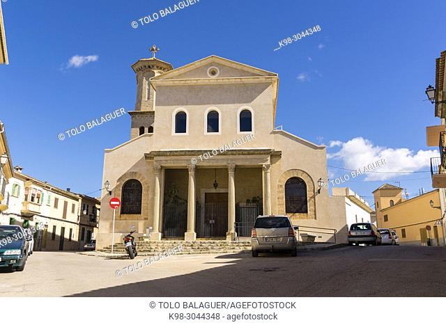 iglesia parroquial, Sant Jordi, Palma, Mallorca, balearic islands, Spain