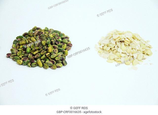 Pistachio, almond, São Paulo, Brazil