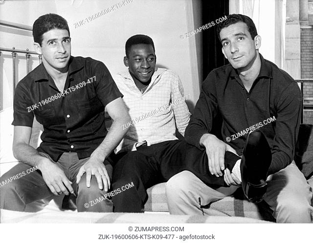 Jun 06, 1960; Paris, France; Brazilian soccer player EDSON NASCIMENTO 'PELE'. (Credit Image: © Keystone Press Agency/Keystone USA via ZUMAPRESS.com)