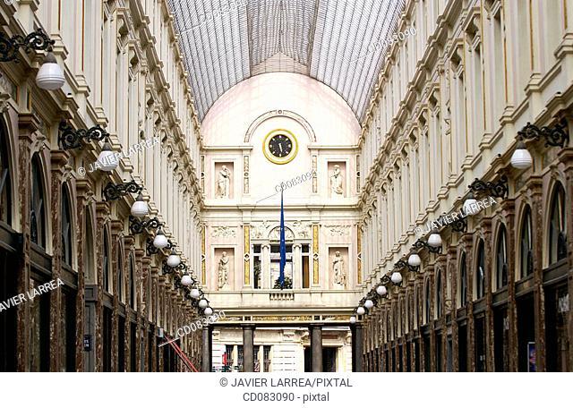 St. Hubert gallery. Brussels. Belgium