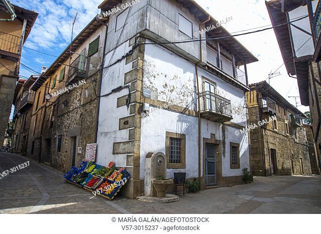 Traditional architecture. Sequeros, Francia Nature Reserve, Salamanca province, Castilla Leon, Spain
