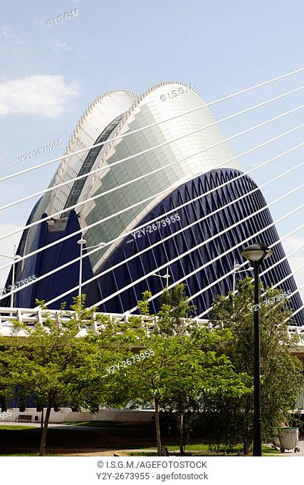 Agora building, Valencia, Spain